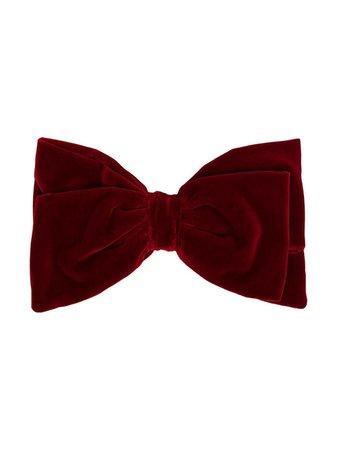 Miu Miu Oversized Bow Hair Clip 5IF00168 Red | Farfetch
