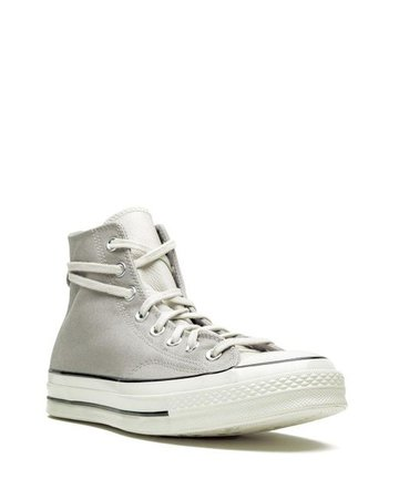 Converse Lace X Fear Of God Chuck 70 Hi String Sneakers in Grey (Gray) for Men - Lyst