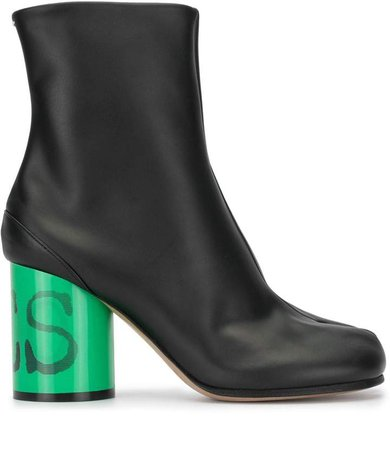 Tabi toe ankle boots