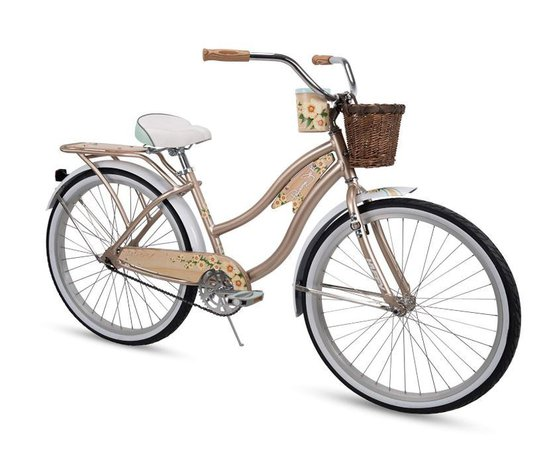 Lightweight Beach Cruiser Bike - Panama Jack   26-Inch 76678   Huffy