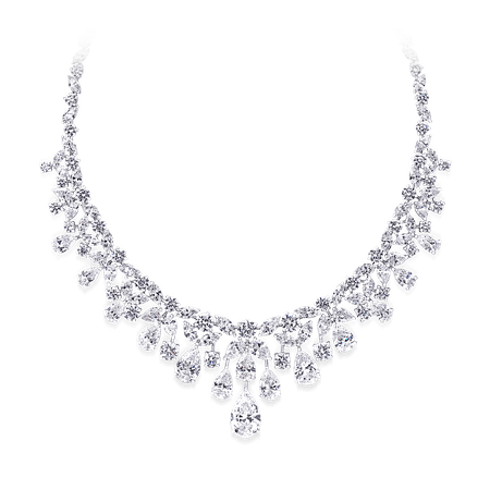 Diamond Necklace, 84.34 cts | Graff