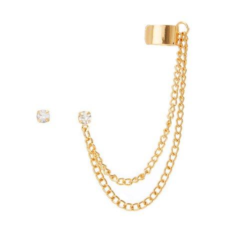 double cuff earrings - Google Search