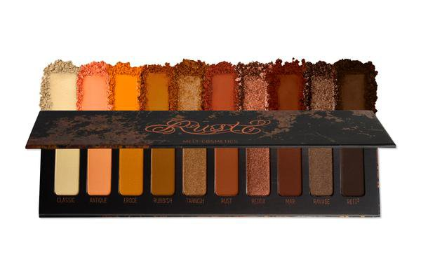 Rust Palette   Melt Cosmetics