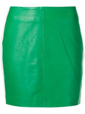 P.A.R.O.S.H. green Miami skirt