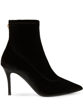 Giuseppe Zanotti pointed leather ankle boots - FARFETCH