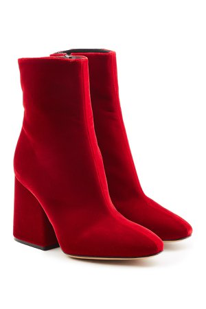 Velvet Ankle Boots Gr. IT 37