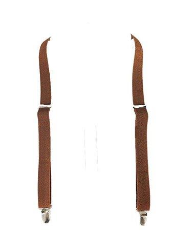 Brown Men's Suspenders