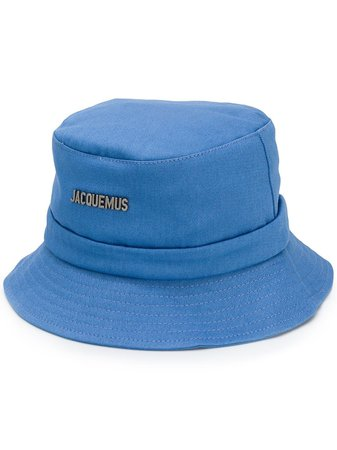 Jacquemus Logo Plaque Bucket Hat | Farfetch.com