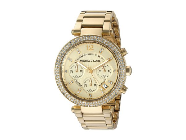 Michael Kors - MK5354 - Parker Chronograph (Gold IP) Chronograph Watches