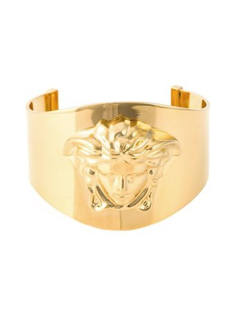 $490 Versace Medusa Cuff - Buy Online - Fast Delivery, Price, Photo