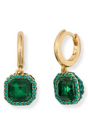 kate spade new york brilliant statements pavé drop earrings | Nordstrom