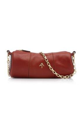Cylinder Leather Shoulder Bag By Manu Atelier | Moda Operandi