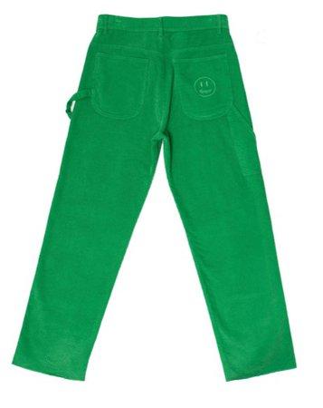 Drew green corduroy pants