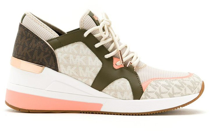 Liv panelled sneakers