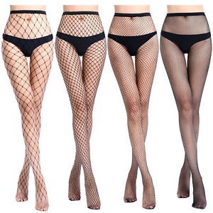 Women Fishnet Stockings Sexy Tights Long Socks Thigh High Pantyhose Lingerie | eBay