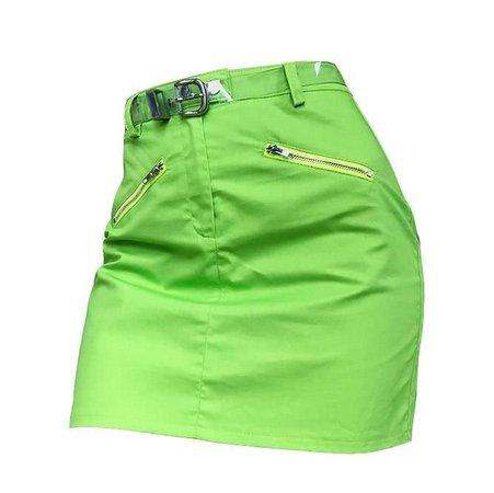 Retro Lime Skirt
