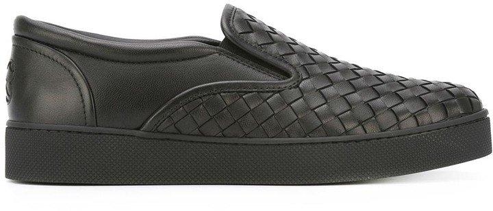 nero Intrecciato nappa sneaker
