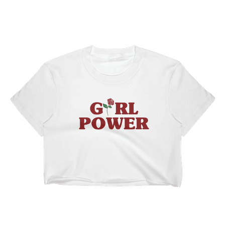 Girl Power Crop Top - Island Gal Boutique