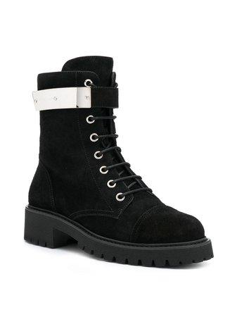Giuseppe Zanotti Suede lace-up Boots - Farfetch