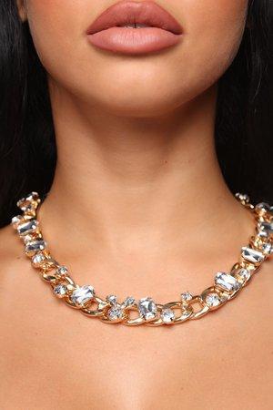 Bad Romance Chain Necklace - Gold – Fashion Nova