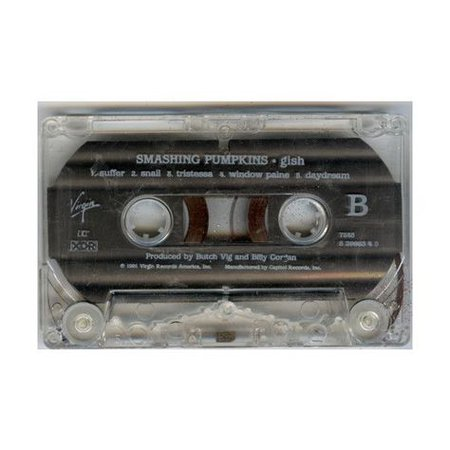 smashing pumpkin cassette black filler png