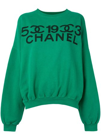 Chanel Pre-Owned Sweat à Logo Imprimé - Farfetch