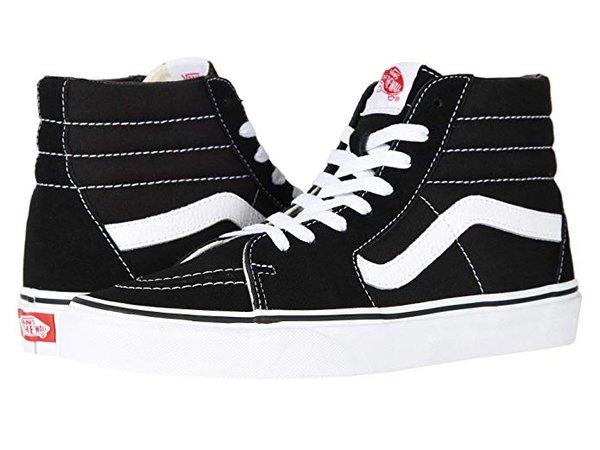 Amazon.com | Vans Unisex Adults' Sk8-hi Slim Hi-Top Sneakers | Skateboarding