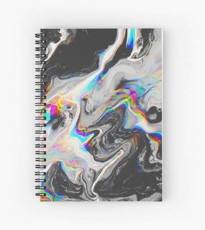 CONFUSION IN HER EYES THAT SAYS IT ALL Spiral Notebooks