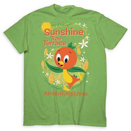 Disney Adult Shirt - Sunshine Tree Terrace - Orange Bird