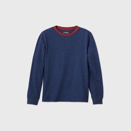 Boys' Long Sleeve Favorite T-Shirt - Cat & Jack™ : Target