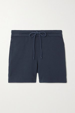 Cotton-jersey Shorts - Gray