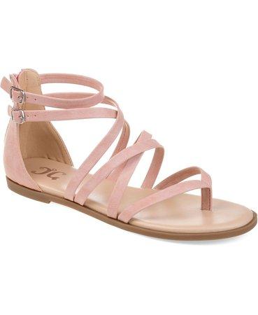 Macy's Pink Women's Comfort Zailie Sandals