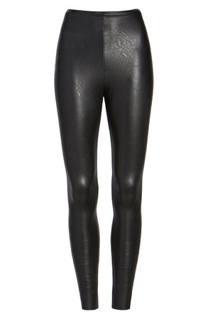Commando Perfect Control Faux Leather Leggings | Nordstrom