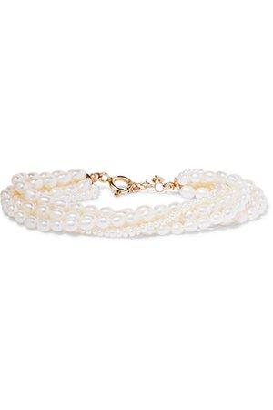 Loren Stewart   14-karat gold pearl bracelet   NET-A-PORTER.COM