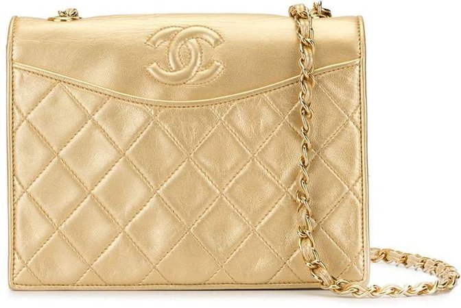 Pre-Owned quilted CC shoulder bag