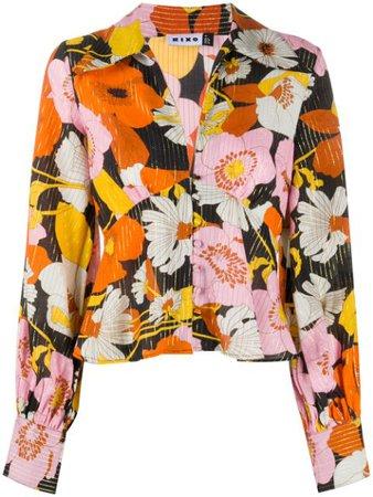 Rixo Daria Floral Print Blouse - Farfetch