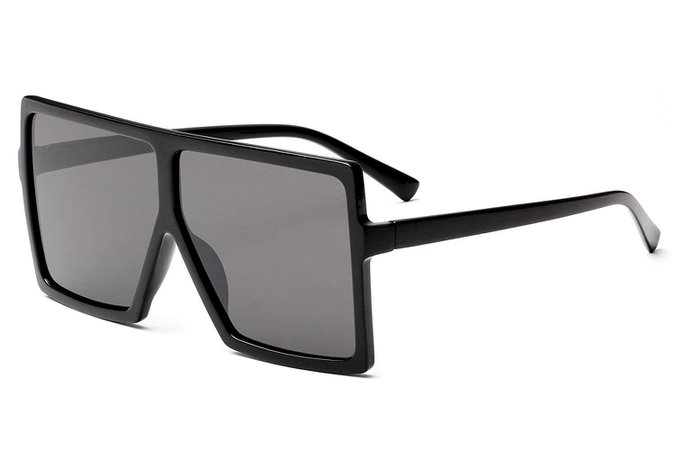Square Oversized Flat Top Fashion Shades for Women - A Posh Affair