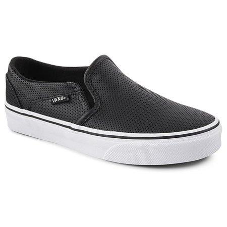 Vans 423Women Floor Price Vans Asher Leather Sneaker Black - Vans Women Shoes B37c6441_LRG.jpg (905×905)