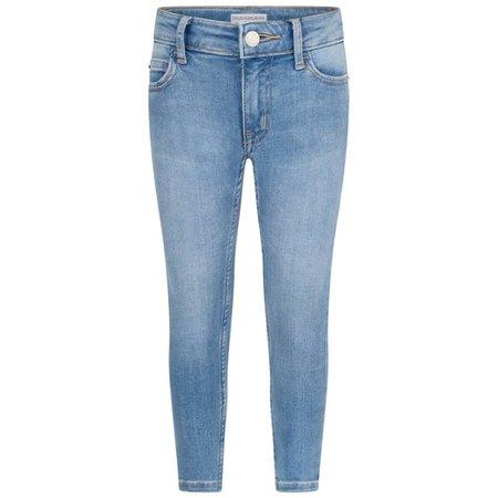 Calvin Klein Jeans Girls Light Blue Skinny Jeans - Jeans - Department - Girl