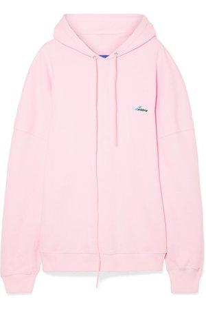 we11done   Oversized appliquéd cotton-jersey hoodie   NET-A-PORTER.COM