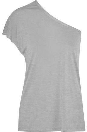 One-shoulder Jersey T-shirt