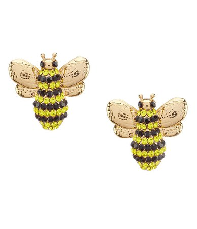 kate spade new york Pave Bee Stud Earrings | Dillards
