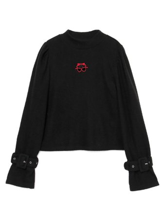 Belt Sleeve Knit Tops (Tops / Knit) | Mail Order of BUBBLES (Bubbles) | Fashion Walker