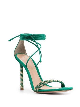 Gianvito Rossi Luna Suede Sandals