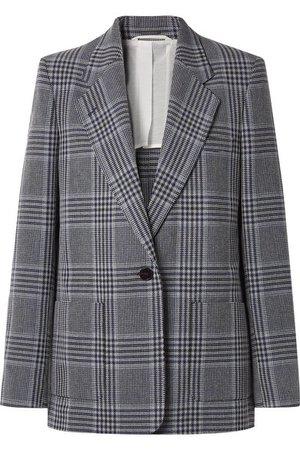 Acne Studios | Jana checked cotton-blend blazer | NET-A-PORTER.COM