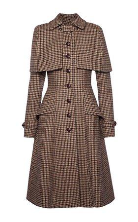 Sherlock Coat by Lena Hoschek | Moda Operandi