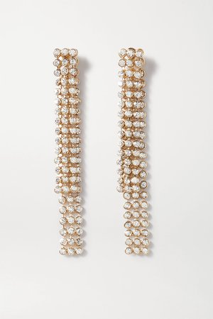 Gold Gold-tone and crystal earrings | Etro | NET-A-PORTER