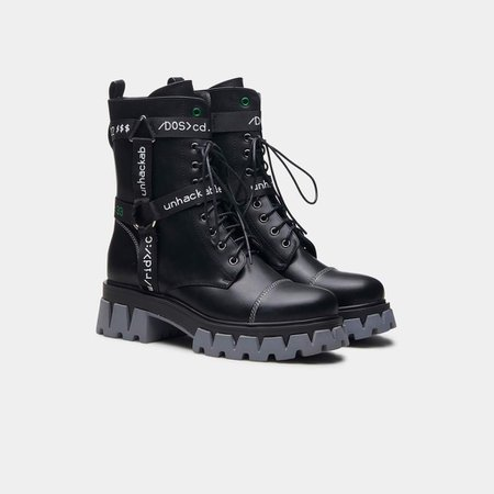 *clipped by @luci-her* GORGON Cyber Combat Boots   Koi
