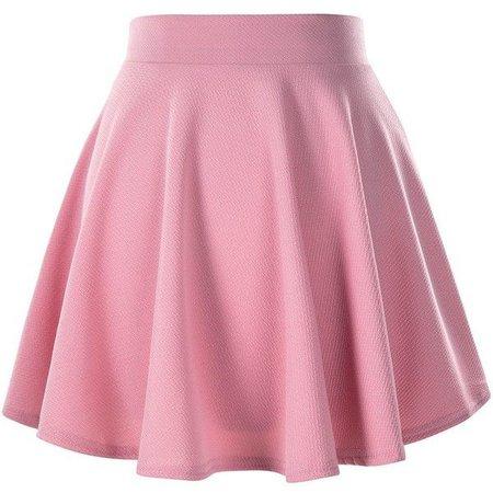 Light Pink Skater Skirt