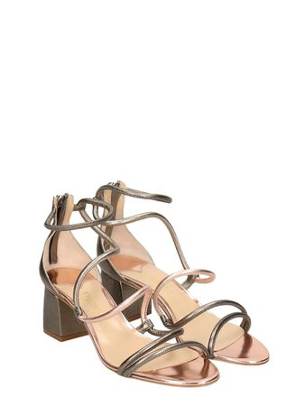 The Seller The Seller Grey Leather Sandals - grey - 10901800 | italist